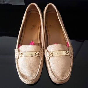 Coach Olive Slip On Leather Loafers Sz 6B
